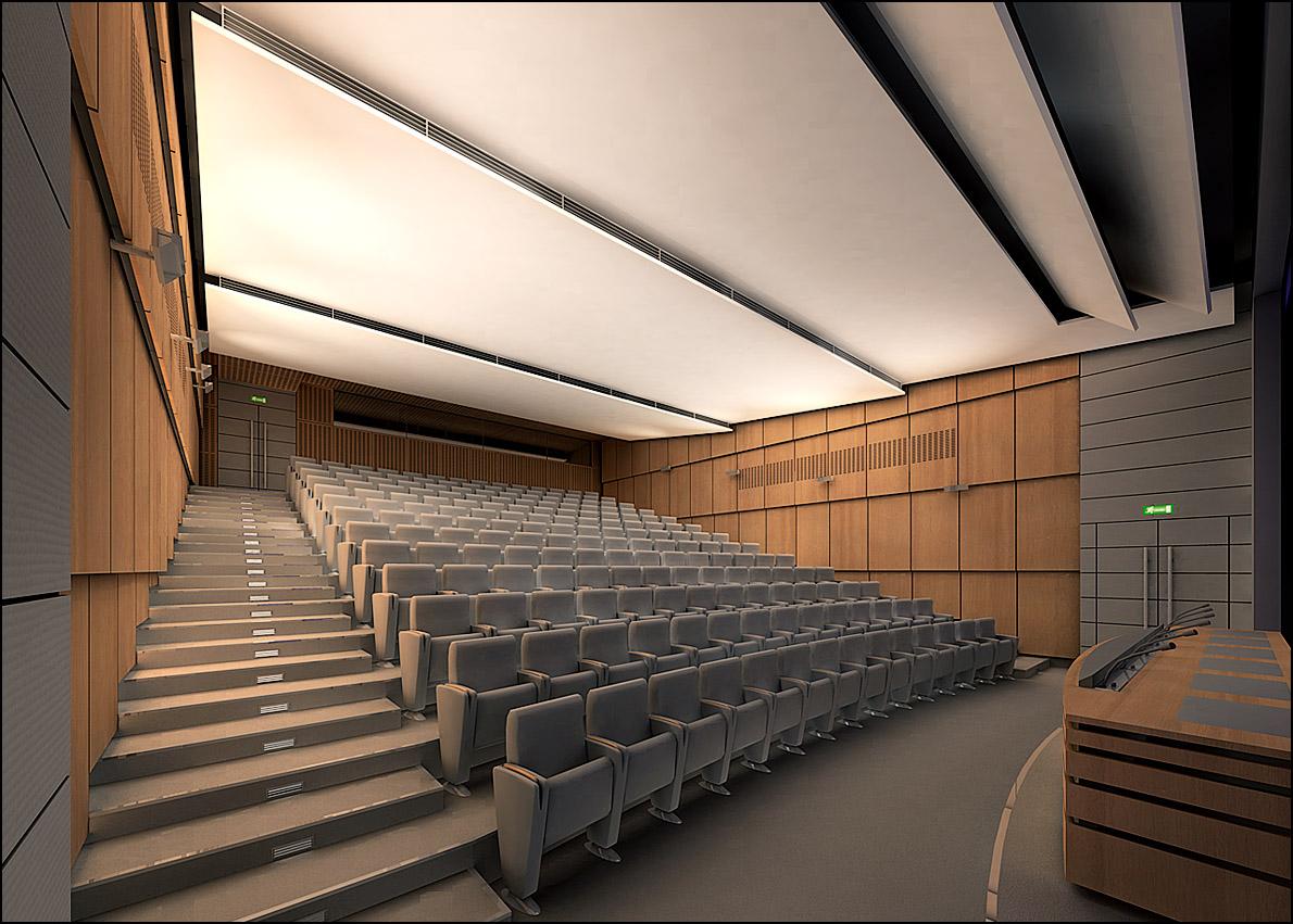 Auditorium Caisse d'Épargne, ParisDubus & Richez