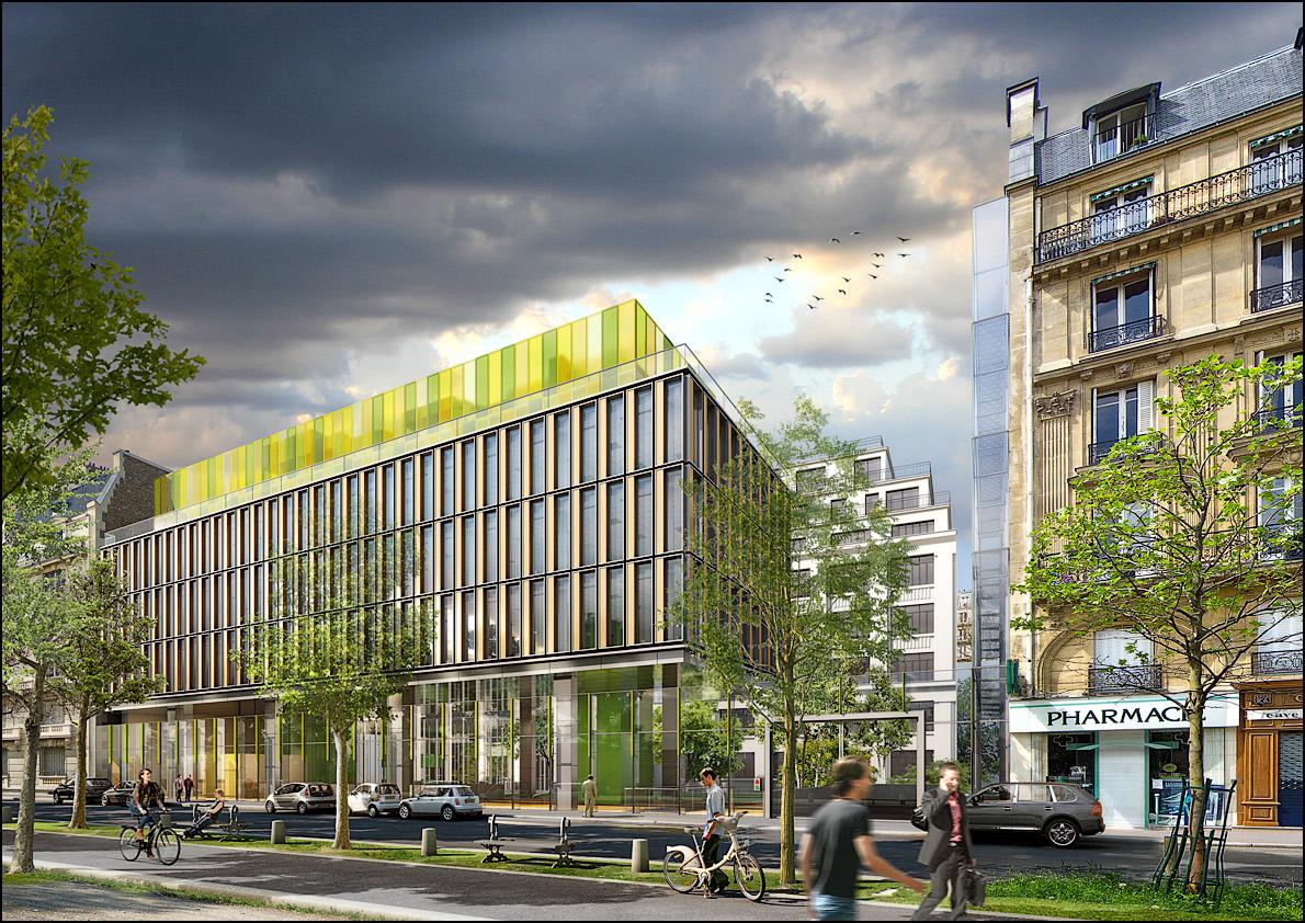 Bureaux, avenue de Breteuil, ParisPuzzler