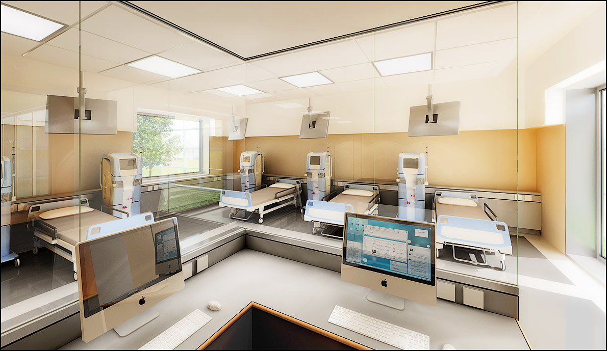 Centre de Dialyse, CaenBeau & Vanhaecke