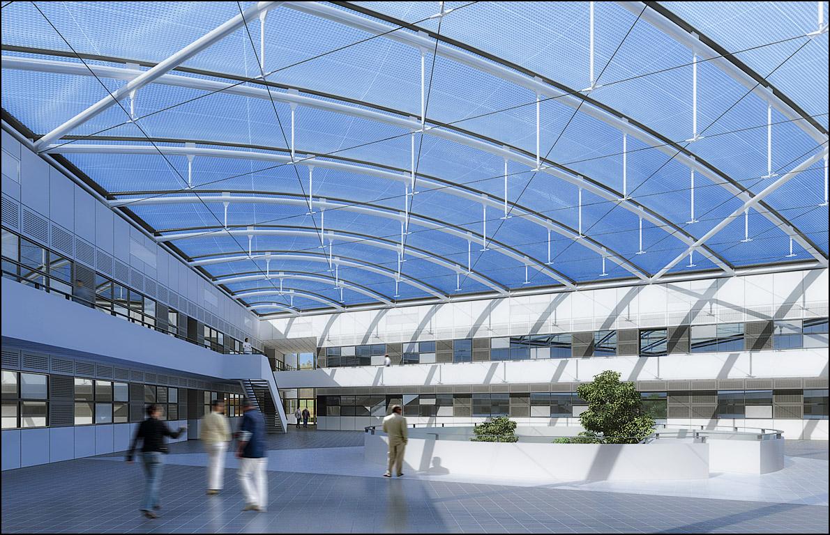 LVMH, Centre de recherche Hélios (Loiret)Arte Charpentier & Ass.