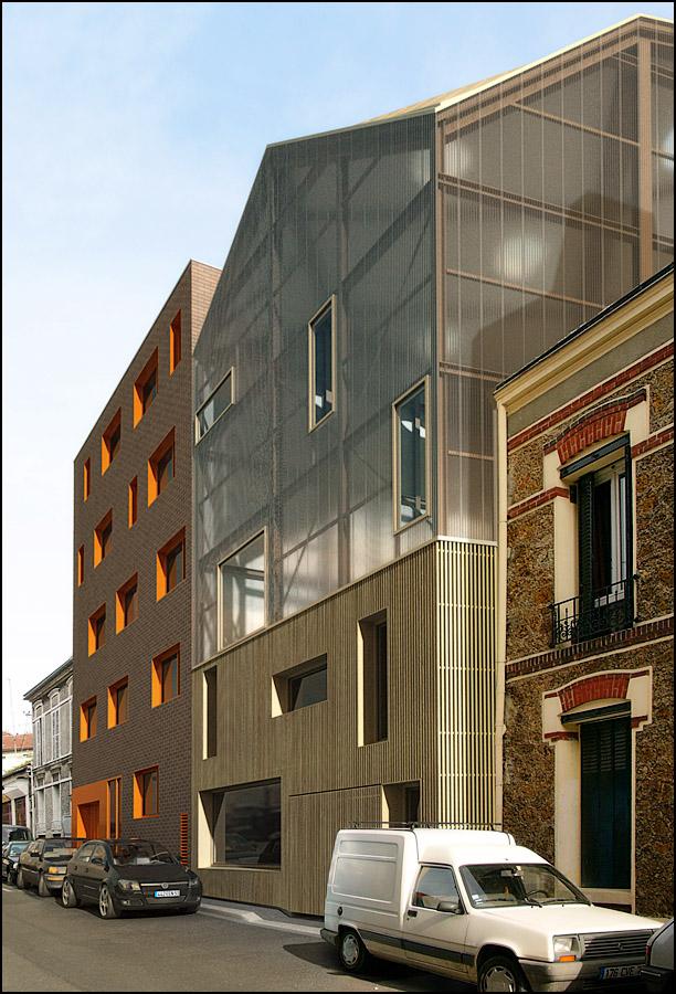 Maison Trapèze, MontreuilLouis Paillard
